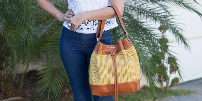 Bucket bag ou bolsa saco  o estilo que veio para ficar! 558db0ea15f