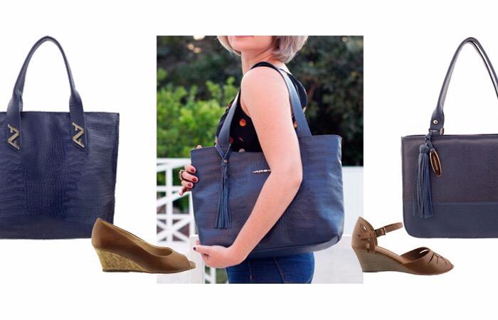 d8e7ab7d1 Combinar descombinando a bolsa com o sapato: atitude moderna