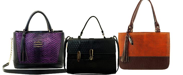 bolsas femininas em couro ARZON