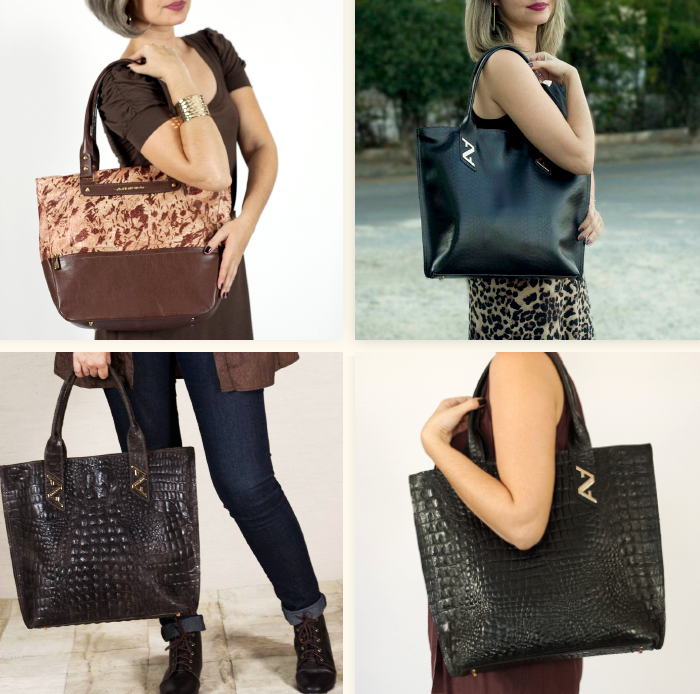 ARZON Combinações com shopping bags