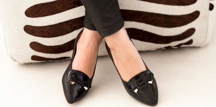 Sapatilhas femininas em couro legitimo ARZON