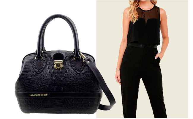 Bolsas clássicas e pretas combinam com tudo. Invista!