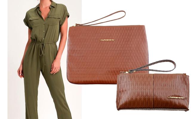 Bolsa carteira de mão em cores neutras que combinam com tudo!
