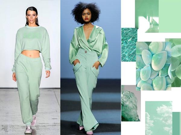 A cor Verde NeoMint é Tendência fortíssima para o Verão 2020