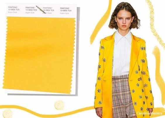 A cor amarelo para o Verão 2020 ARZON