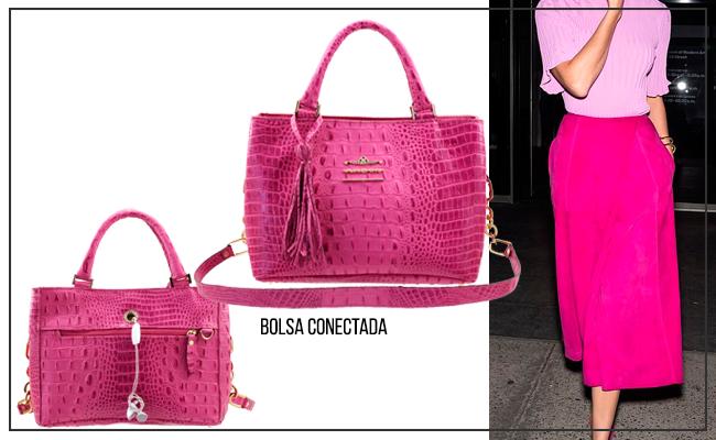 Bolsa Conectada Rosa Pink Verão 2020 ARZON