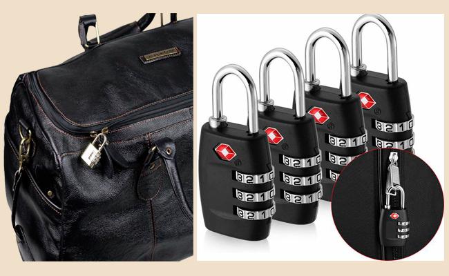 Coloque cadeado na sua mala, mochila ou bolsa de viagem antes de despachar