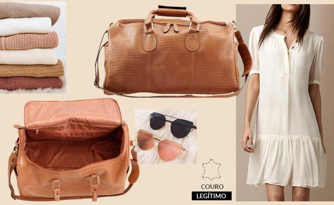 Vai viajar? Escolha a mochila ou bolsa de viagem ideal!