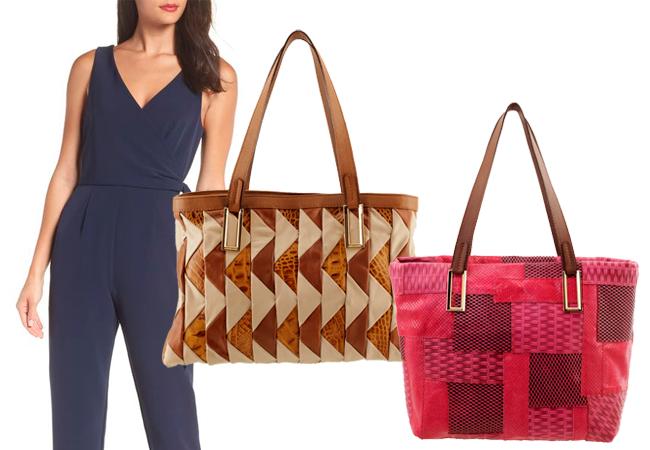 Bolsa Feminina ARZON com Handmade de Couro Patchwork