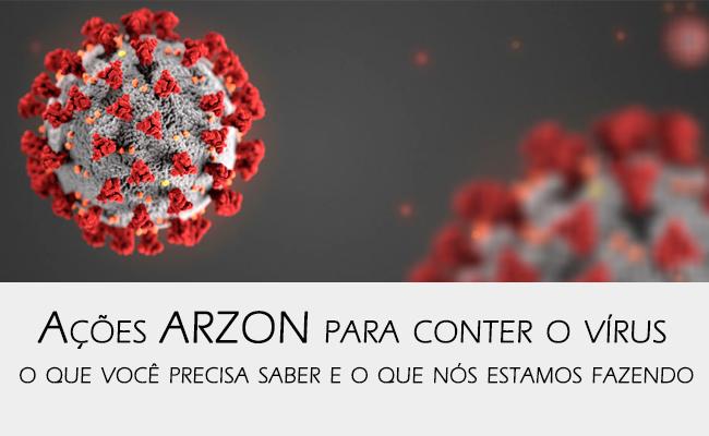 acoes arzon conter disseminacao coronavirus