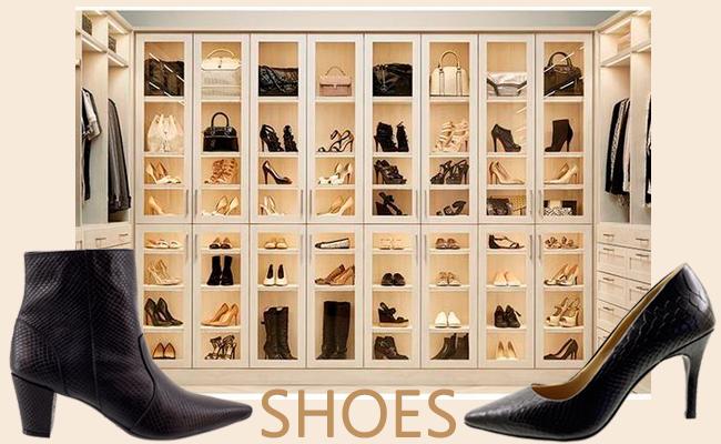 10 melhores formas de organizar seus sapatos