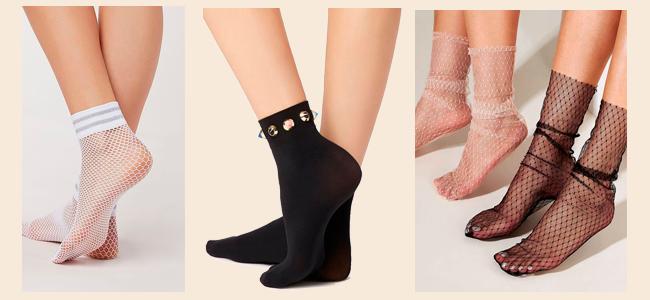 Use meia soquete com sandália no Inverno