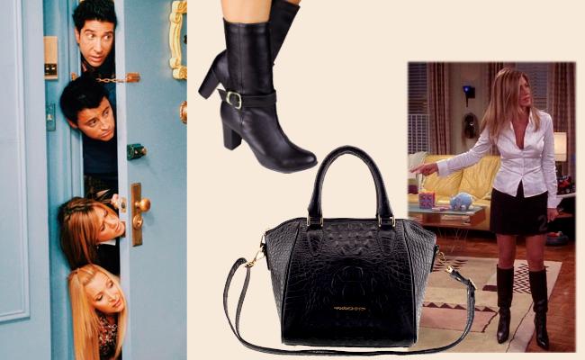 Acessórios arzon perfeitos para a personagem Rachel Green de Friends