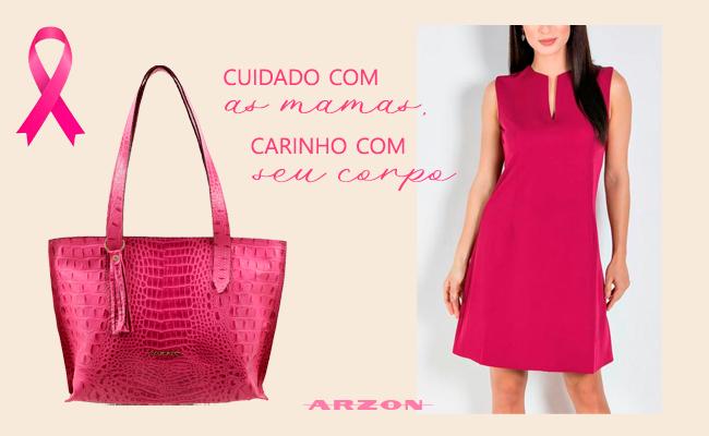A ARZON apóia o Movimento Outubro Rosa e incentiva o cuidado com as mamas